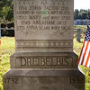 Dreibelbis; 1714 - 1761, John Jacob landed in America Sept 26, 1732. Mary his wife, 1720 - 1785. Abraham 1749 - 1803, Anna M. his wife, 1751 - 1806
