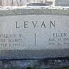 Wallace Levan, Feb 20, 1872 - Feb 1, 1959. Son of William B. Levan and Mary Elizabeth Stump.<br /> <br /> Ellen Heinly, Aug 11, 1874 - Jan 12, 1946. Daughter of Seth Heinly and Matilda Greenawalt.