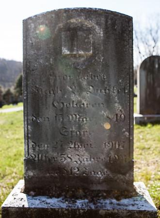 Hugh L. Dunkel, May 20, 1849 - April 27, 1907. Son of John and Elizabeth (Sarig) Dunkel. Family: Husband of Louise M. Seidel. Parents of Pruella Louisa Dunkel.