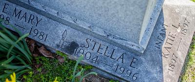 Daughters of Irvin Rahn Sunday and Ellen Missouri Seip.  E. Mary Sunday (Mary Ellen), March 5, 1898 - Jan. 1981.   Stella E. Sunday, Dec 11, 1904 - Nov 14, 1996.  First born infant, Katie Sunday, 1897 - 1897.