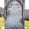 Catharina ... Brensinger, Dec 7, 1860 - ___ 19, 1887. Wife of Joel Buschy (?)...