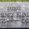 Henry Kline, 1876 - 1959, husband of Rosa Kline.