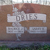 Maurice J. Dries, 1902 - Jan 5, 1964.<br /> Sarah Kerr, Feb 5, 1903 - 23 Jan 1985.<br /> <br /> Sarah is daughter of William and Katie S. (Miller) Kerr.