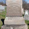 Sarah A. Dietrich, June 21, 1846 - Oct 22, 1899. Daughter of Samuel P. Dietrich and Sarah Heinly.
