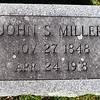 John S. Miller, Nov 27, 1848 - Apr 24, 1918.