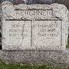 Henry G. Kerchner, Feb 22, 1850 - Mar 15, 1926. Son of Jacob Kerchner and Elisabeth George.<br /> <br /> Charlotte (Hoch) Kerchner, 1848 - 1892. Daughter of Reuben Hoch and Appolonea Dormeyer.<br /> <br /> Their son is Edward Eugene Kerchner.