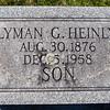 Lyman G. Heinly, Aug 30, 1876 - Dec 5, 1958. Son of Seth Heinly and Matilda Greenawalt.
