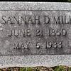 Susannah D. Miller, June 21, 1850 - May 6, 1933.