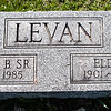 George Benjamin Levan, Sr., Oct 1, 1900 - Aug 3, 1985. Son of Benjamin J. Levan and Emma Floranda Smith.<br /> <br /> Elda Mae Heinly, Aug 23, 1901 - Nov 22, 1963. Daughter of George Samuel Heinly and Mary Leah Sunday.<br /> <br /> George and Elda are parents to Arthur W., George B., Russell D., daughter, Clarence and Frederick.
