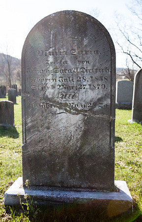 Maria Sarah Dietrich, July 28, 1858 - March 27, 1879.  Daughter of Jonas and Sarah Anna (Lenhart) Dietrich.