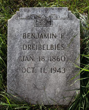 Benjamin F. Dreibelbies, Jan 18, 1860, Oct 11, 1943