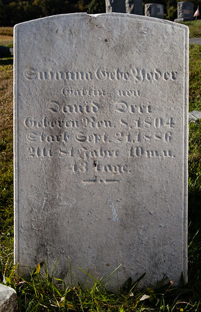 ___ Yoder, david ___ , __ 8, 1804, Sept 21, 1886, 81 yrs...