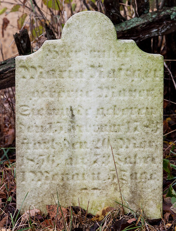 Maria Nafzger, b. 1783, d. 1856. (Naftzinger family burial).