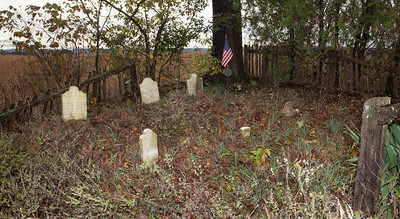 Naftzinger family burial plot on the Naftzinger homestead, Upper Bern Twp., Berks Co., PA, (between Hamburg and Shartlesvile) There are 4 known graves, notice the head and foot stones for 3 graves. The 4th grave is marked by a flag and Revolutionary War plaque.