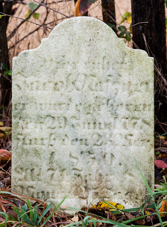 Jacob Nafzger tombstone (Jacob Naftzinger), 1778 - 1850?  (Naftzinger family burial).