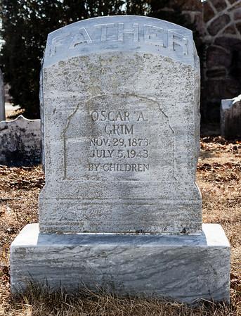 Oscar A. Grim, Nov 29, 1873 - Jul 5, 1943