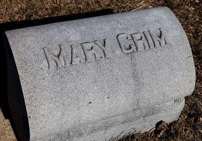 Mary  Grim, buried New Bethel Zion Cemetery, Grimsville, PA.