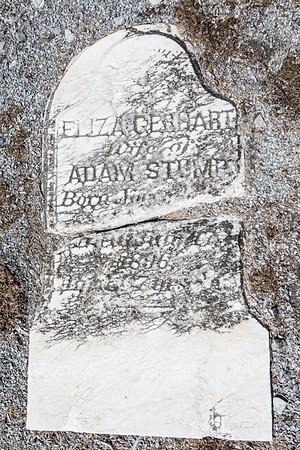 Eliza Gerhart, wife of Adam Stump... 1896...