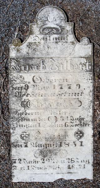 Jacob Filbert, ... May 9, 1779 ... - ___ 1831(?) or 1851(?)...