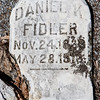 Daniel K. Fidler, Nov 24, 18__ to May 28, 19__.