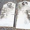 (left) Anna Lang... April 25, 1815 - August 28, 1862 ... <br /> and (right) Amilia ... Maria ... 1845 - 1862...