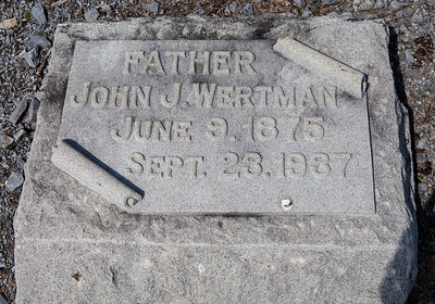John J. Wertman, June 9, 1875 - Sept. 23, 1937