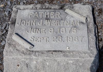John J. Wertman, June 9, 1875 - Sept. 23, 1937