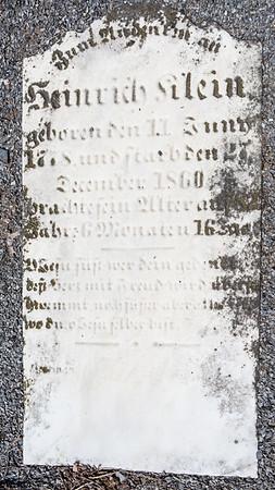 Heinrich Klein ... 1718 ... December 1860 .....