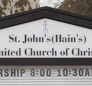 St. John's (Hain's) UCC Cemetery