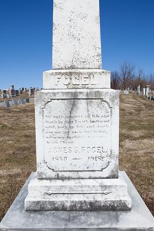 Agnes S. Fogel 1850 - 1918
