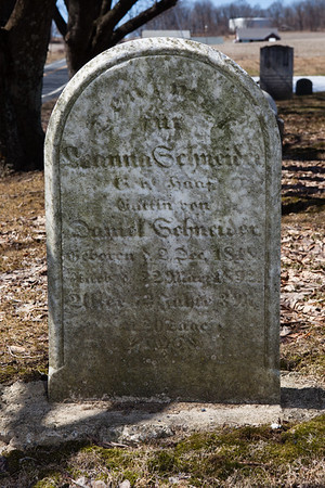 Leanna (Haaf) Schneider, Dec 2, 1819 - March 22, 1892. Wife of Daniel Schneider.