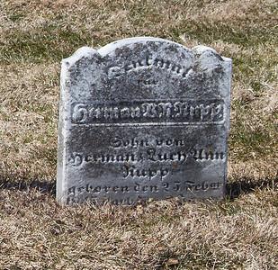 Herman B. R. Rupp. Feb 25 - 1845 - ____.  Son of Herman & Ruth Ann Rupp.