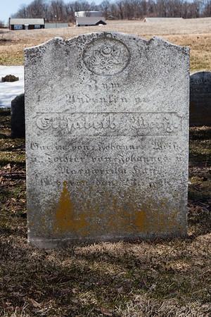 Elisabeth Weitz .... 23 ___ 1810(?). Wife of Johannes Weitz......