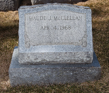 Maude J. McClellan, April 4, 1968 -