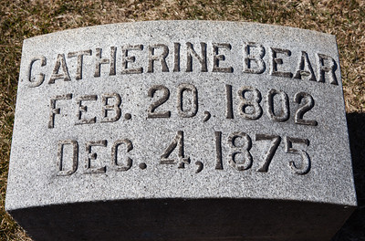 Catherine Bear, Feb 20, 1802 - Dec 4, 1875