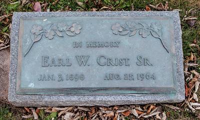 Earl W. Crist, Sr., Jan 3, 1898 - Aug 25, 1964