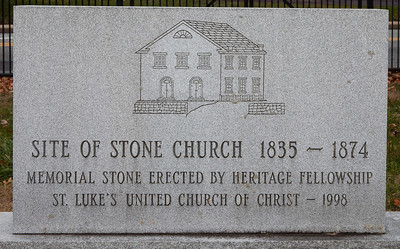 Site of Stone Church 1835 - 1874 (St. Luke's United Church of Christ)