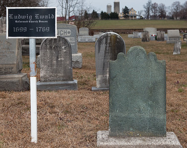 """tombstone says """"Lodwig Ewald"""". immigrant"""