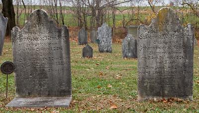 Left: George Rentschler, born Oct 11, 1756, died April 24, 1827. Right: Cahterine Margaretha (nee Wagner) Rentschler, born Dec 24, 1765, died 2(?) June 1847
