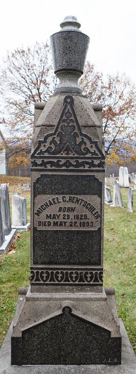 Michael C. Rentschler, 1825 - 1893