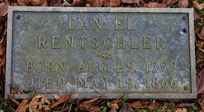 Daniel Rentschler, 1799 - 1866