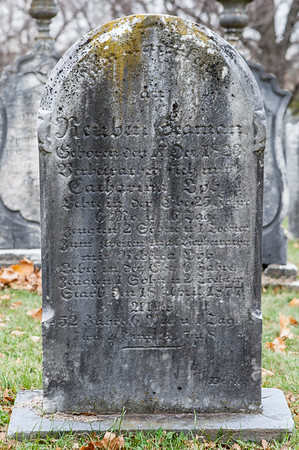Reuben Seaman Oct. 17, 1823 - Apr. 18, 1877, wife of Catherine Loeb and Rebecca Loeb