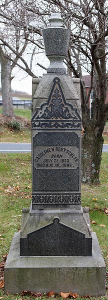 Caroline N. Rentschler, 1833 - 1886