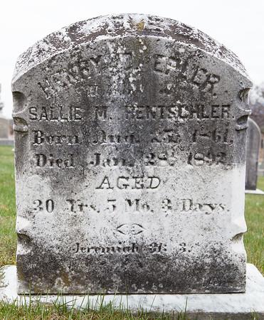 Henry Daniel Epler, 25 Aug 1861 - 28 Jan 1892. (Husband of Sallie M. Rentschler).