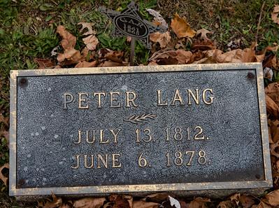 Peter Lang, 1812 - 1878