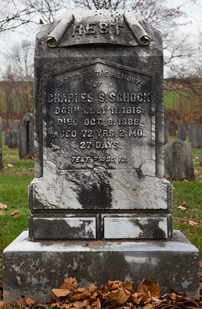 Charles S. Schock, 1816 - 1888