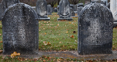 Left: Rebecca Merkel, 1820 - 1881 Right: William Merkel, 1824 - 1907