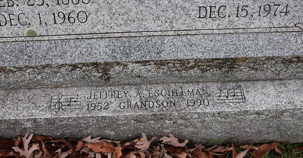Jeffrey A. Eschleman, 1952 - 1990, grandson