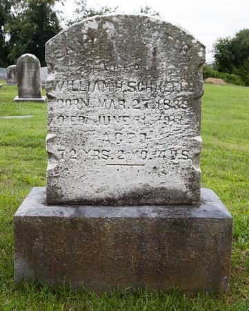 Sarah Hiester, 27 Mar 1839 - 10 Jun 1911. Daughter of Daniel Hiester and Eva Gerloff. Wife of William Himmelberger Schaeffer. Mother of Ella H. Schaeffer.