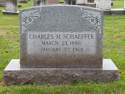 Charles Hollenbach Schaeffer, 23 Mar 1886 - 27 Jan 1968. Son of Amendon and Fietta (Hollenbach) Schaeffer. He married Sallie Ann Degler and had 4 known children.